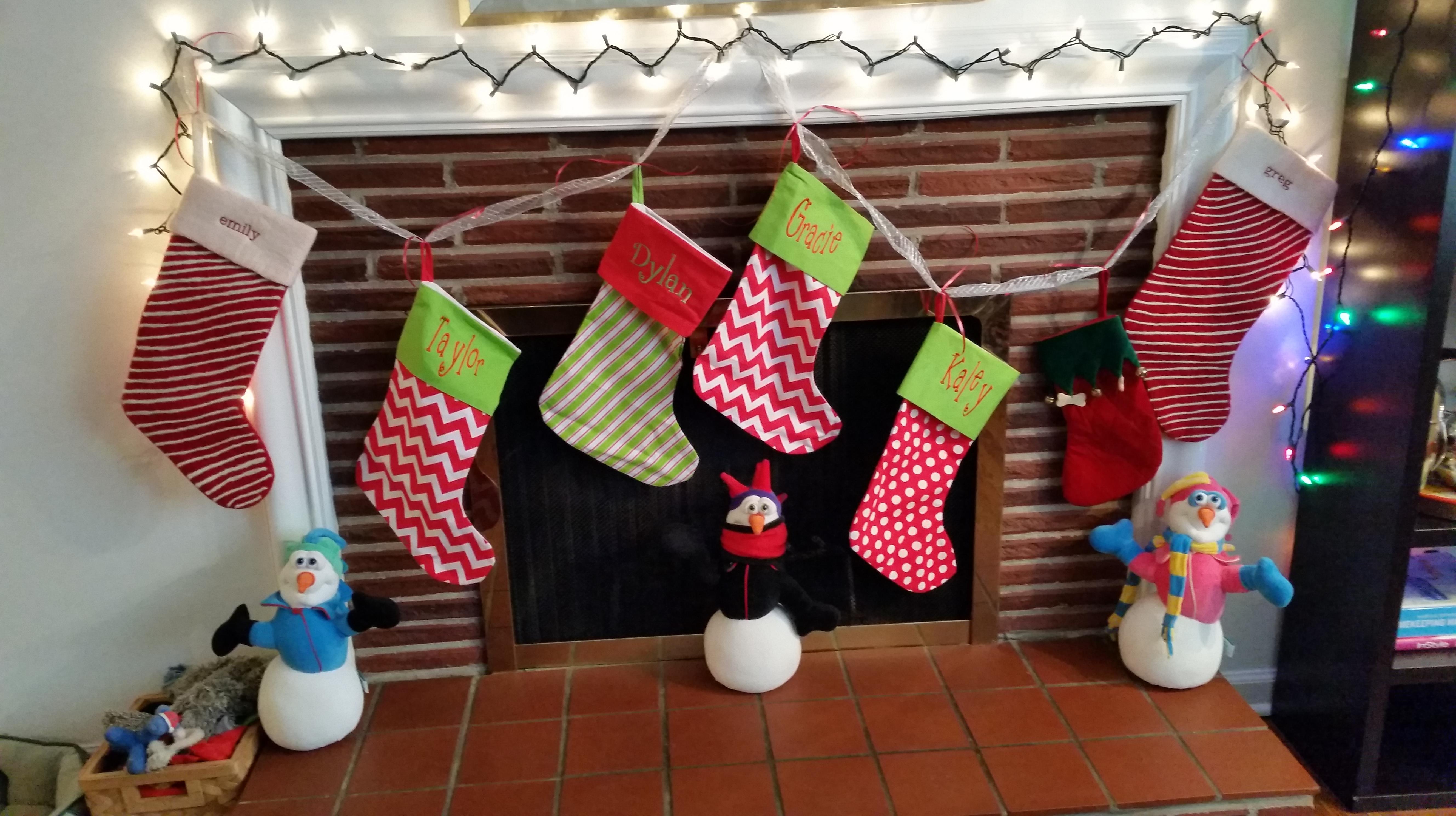 18th Century Christmas Stockings